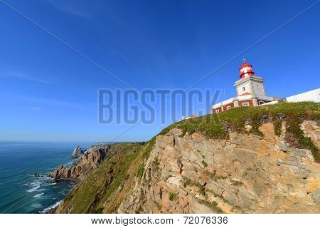 Cabo da Roca Lighthouse, Sintra, Portugal