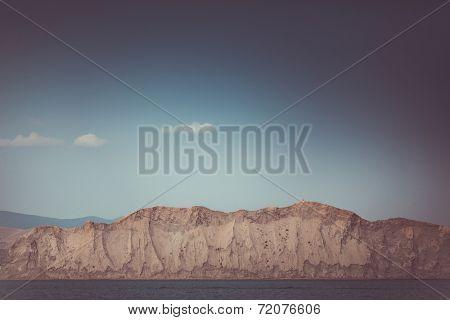 beautiful sealandscape in Crimea, Ukraine