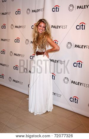 LOS ANGELES - SEP 15:  Clancy Cauble at the PaleyFest 2014 Fall -