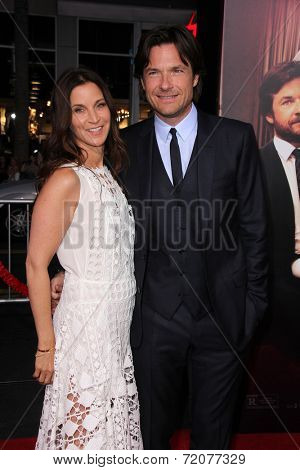 LOS ANGELES - SEP 15:  Amanda Anka, Jason Bateman at the