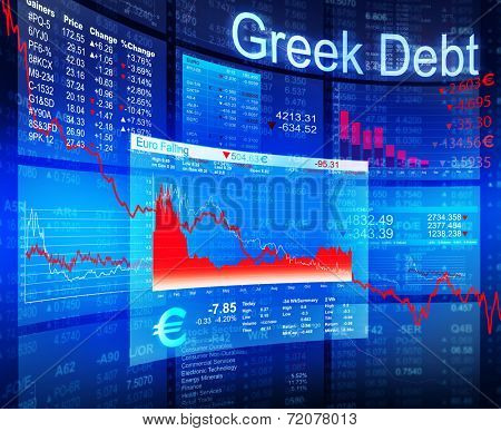Greek debt crisis.