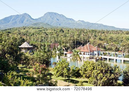 Taman Ujung Water Palace On Bali