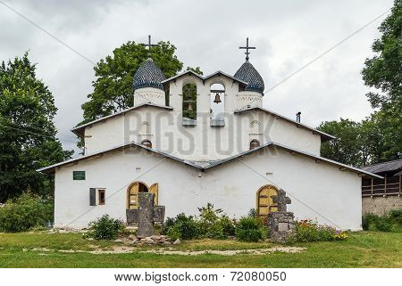 Church Of The Intercession And Nativity, Pskov