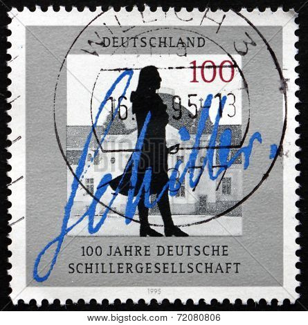 Postage Stamp Germany 1995 Schiller Society