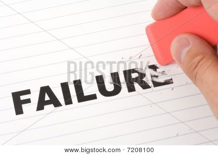Eraser And Word Failure