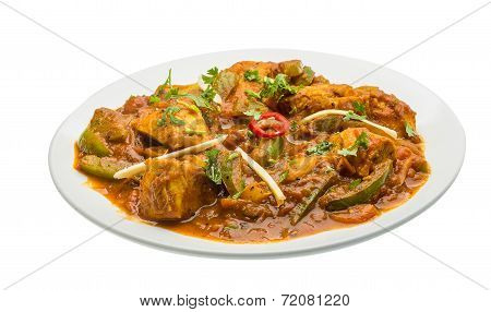 Chicken Jhalfrazi