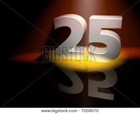 Congratulation 25
