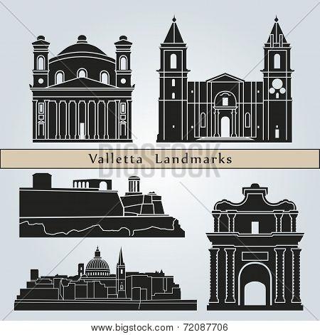 Valletta Landmarks And Monuments