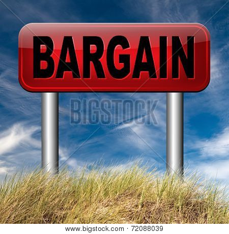 lowest price and best bargain at sales. A hot special reduction deal.