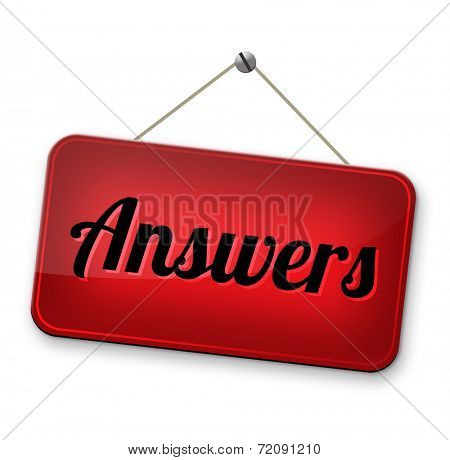search answer on the question, solve problems and find solution. result of a poll quiz answers