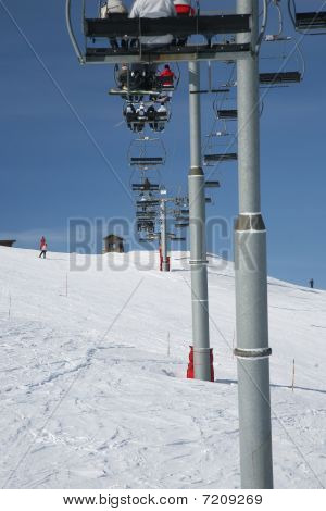 Chair Lift Climbing