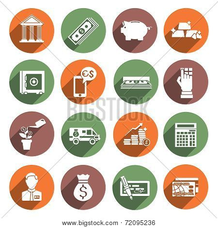 Bank Service Icons