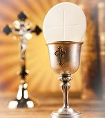 stock photo of eucharist  - Eucharist - JPG