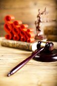 picture of magistrate  - Justice concept and paragraph  - JPG