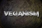 picture of vegan  - Veganism Concept text on background vegan idea - JPG