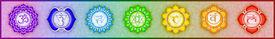 foto of tantra  - Illustration of the seven main chakras mandalas - JPG