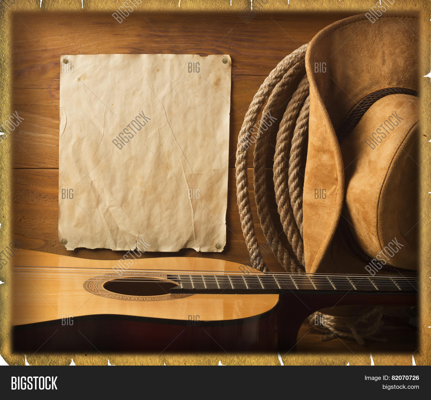 American Cowboy Country Music Image & Photo | Bigstock