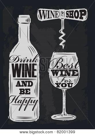 chalk wine