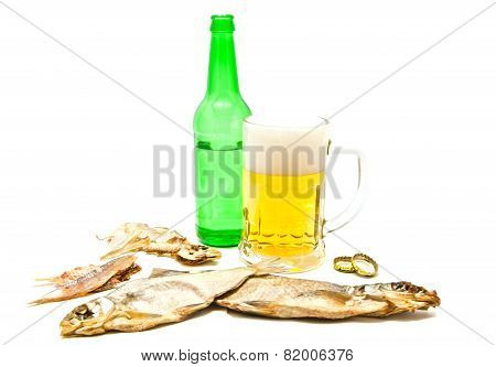 Salty Fishes And Light Beer