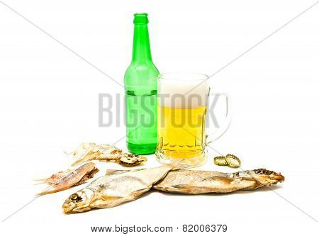Salty Fishes And Beer