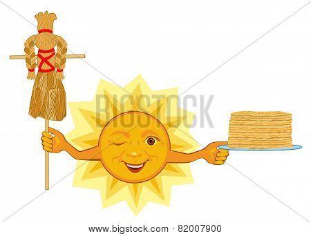 Sun Celebrates Shrovetide Celebration