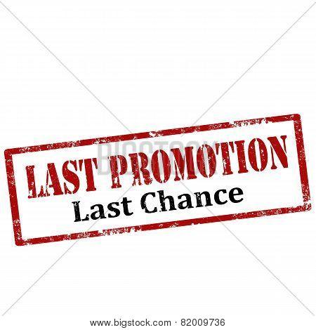 Last Promotion-stamp