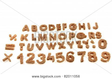 Bread Alphabet