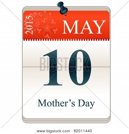 Calendar Of Mother's Day