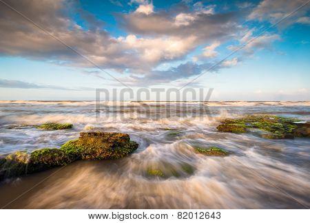 St. Augustine Florida Scenic Beach Ocean Landscape