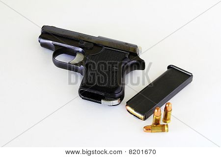 Gun And Cartridges