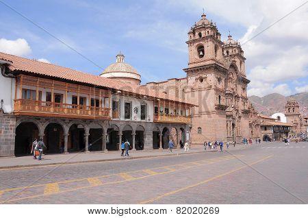 Plaza de Armas, Cuzco, Peru.