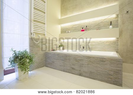 Luxury Stone Bathtub