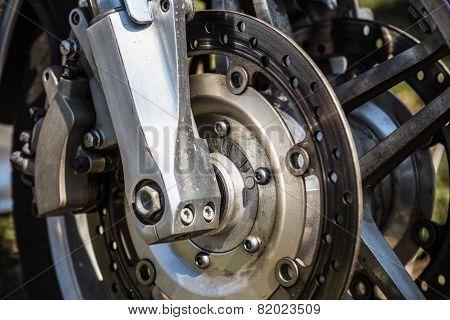 Sport Bike Or Motorcycle Brake Disk