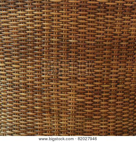 Wicker Texture Background, Traditional Handicraft Weave