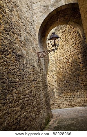 Street Of Sarlat, France