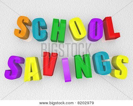 School Savings - Refrigerator Magnets