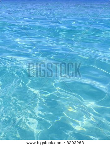 Tropical Perfect Turquoise Beach Blue Water