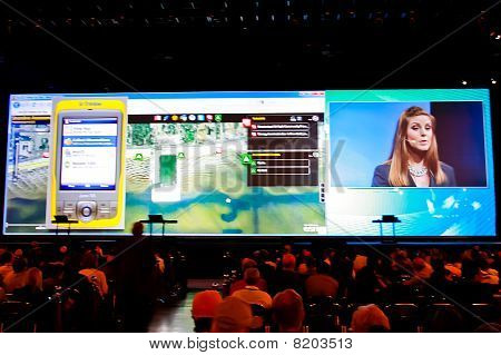 Plenary At The Esri User Conference 2010