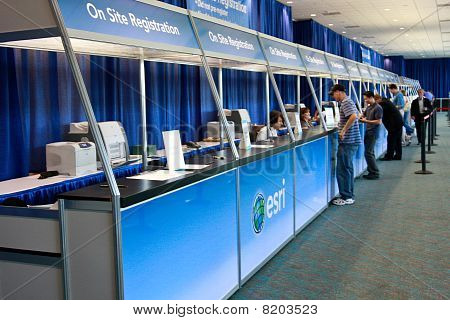 Esri User Conference 2010 Registration Area