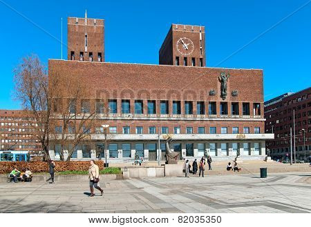 Oslo. Norway. The City Hall