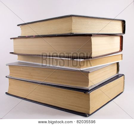 A pile of literature