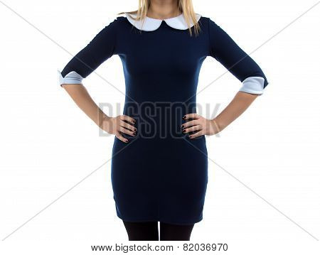 Image of woman with arms on hip
