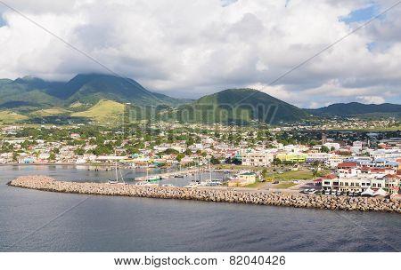 Green Hills Beyond Port Town