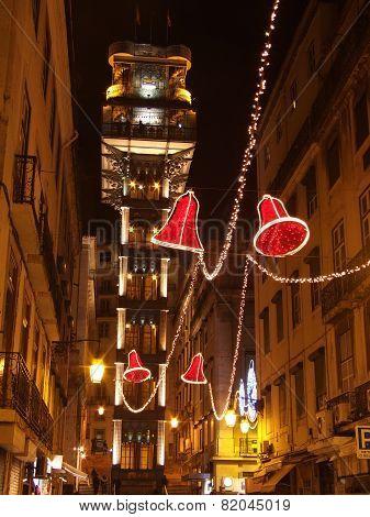 Lift of Santa Justa , Lisbon