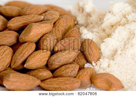 Almond Dried Fruit And Almond Flour
