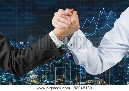 Busines Arm Wrestling