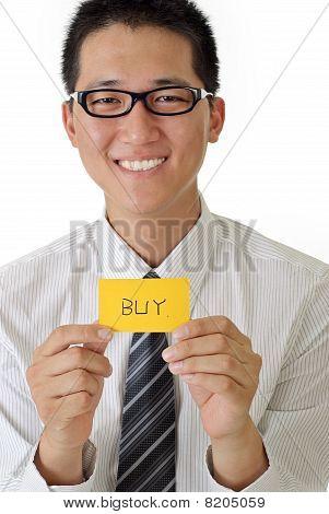 Shopping Business Man