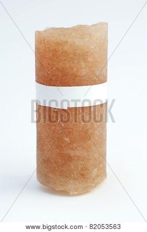 Drill Core From A Salt Mine