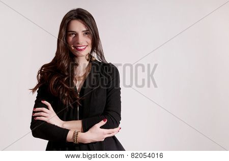 Standing Woman Portrait