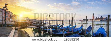 Panoramic Surise, Venice.